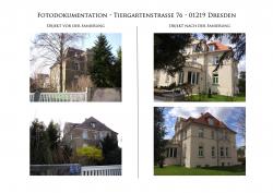Denkmalsanierung Tiergartenstr 76